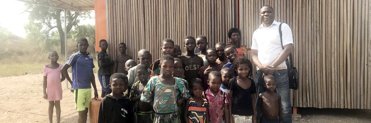 Komlavi de Benoo au Togo